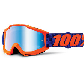 100% Accuri Anti Fog Mirror Goggles Børn orange/violet